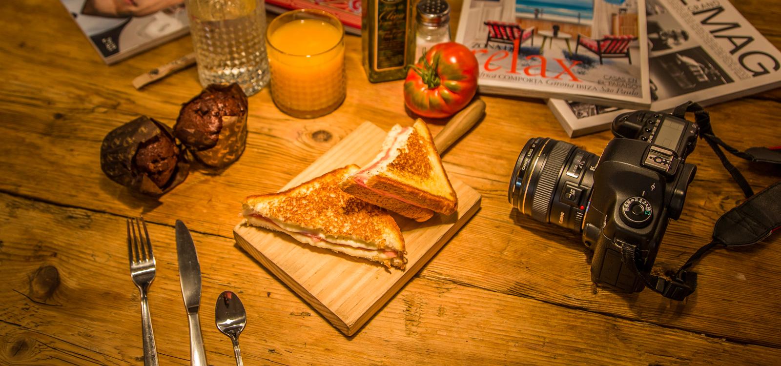 Fotógrafo de producto desayunos lady madonna