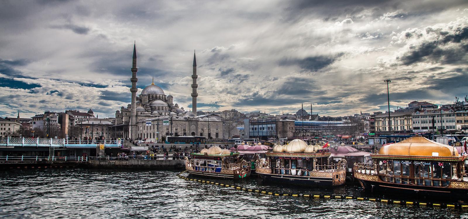 Fotografo paisaje ciudad Estambul sociedad