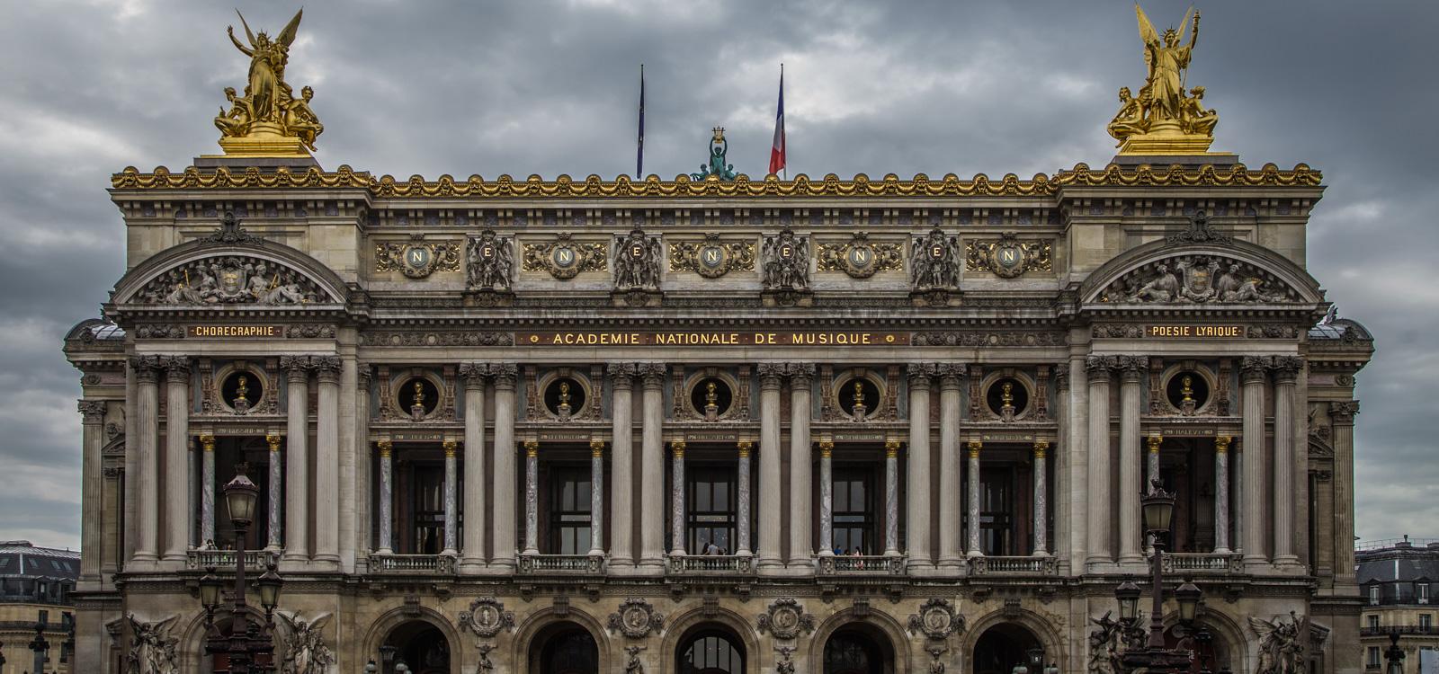 Paris viajes opera musica lírica arquitectura teatro