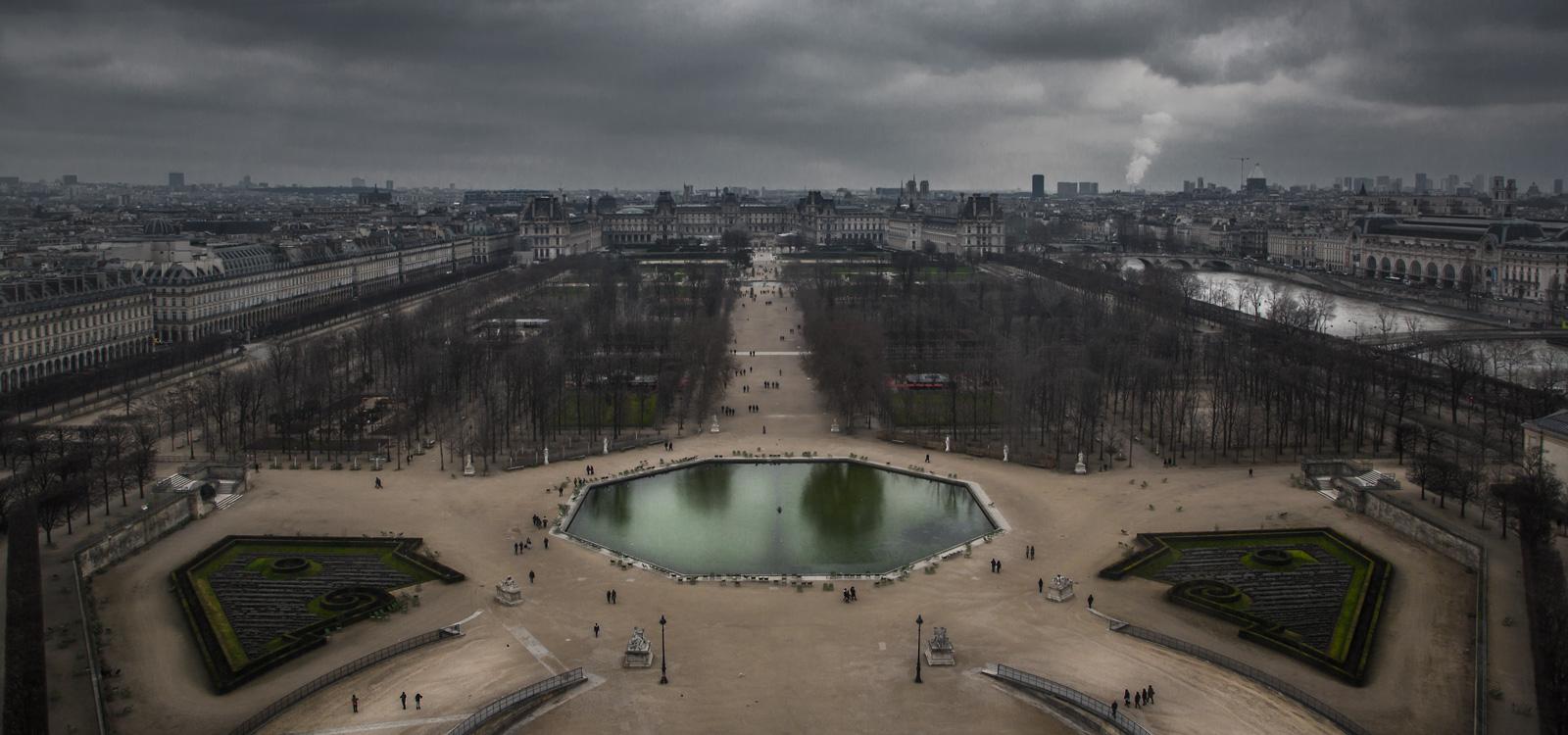 Fotógrafo viajes París paisaje ciudad