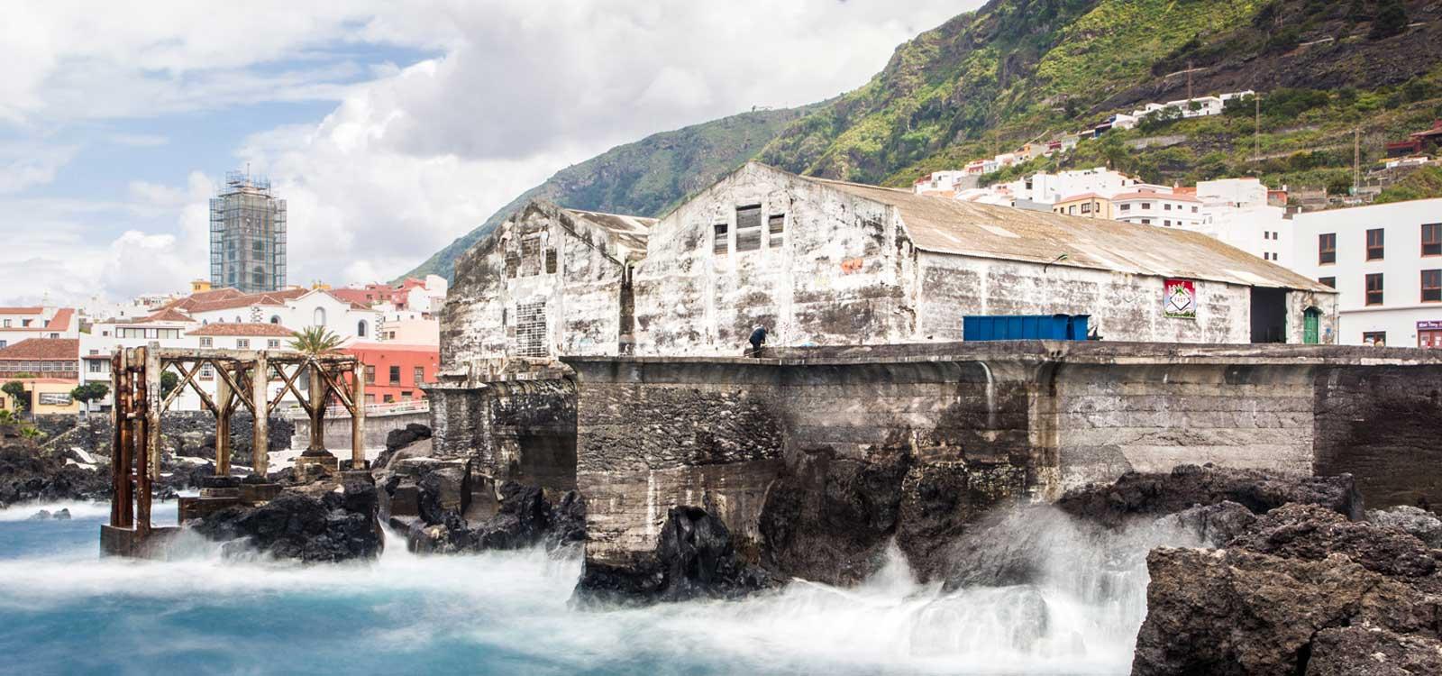 Fotógrafo viajes Tenerife Bocachica océano arquitectura