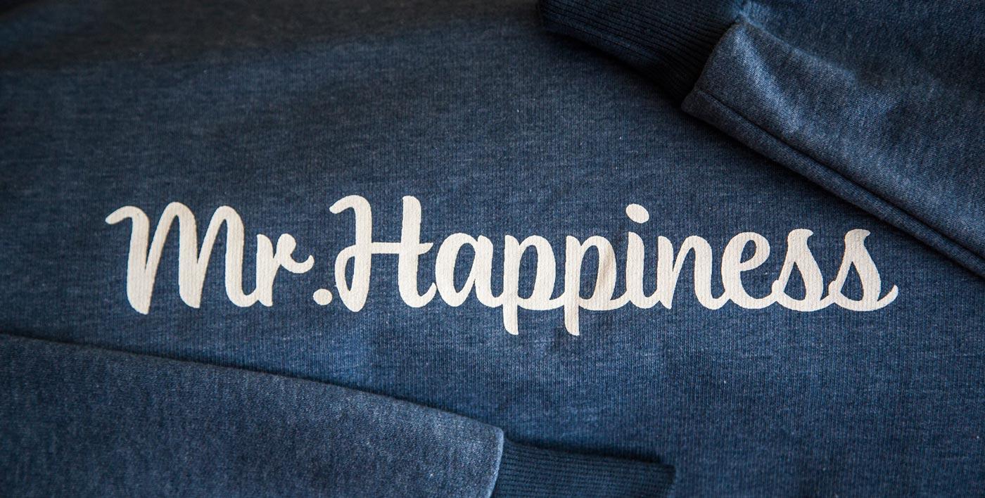 Mr. Happiness ropa moda sudadera frío estilo colorido invierno abrigo